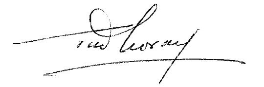 Assinatura de Tito de Morais