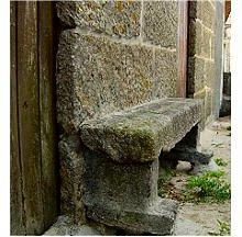 Banco de pedra