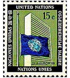 Bandeira da ONU a meia-haste