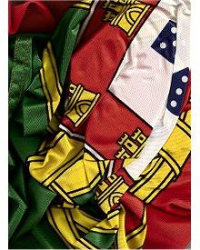 Bandeira de Portugal ao vento