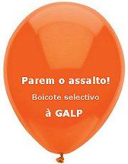 boicote selectivo à GALP