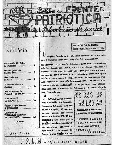 Boletim FPLN - Humberto Delgado