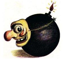 Bomba máscara