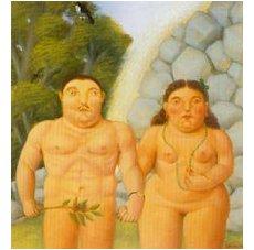 Botero - Adão e Eva