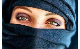 Burka - olhos