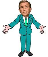 cartoon Bush