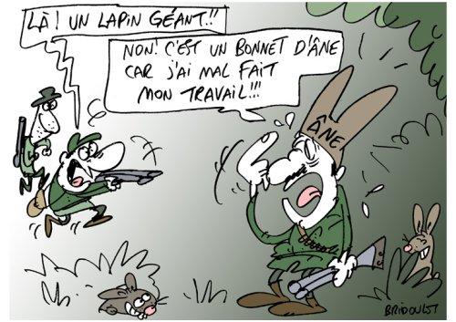 Coelho caçado