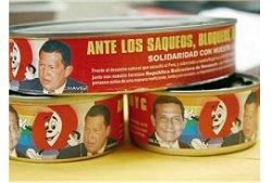 latas de atum