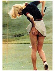 Colaboradora golfista