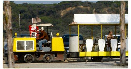 Comboio Costa da Caparica