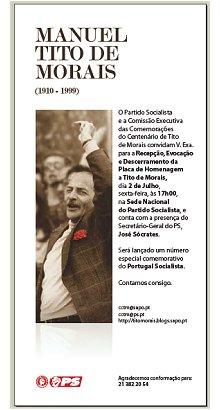 Convite Partido Socialista