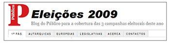 Eleições 2009 - Cobertura