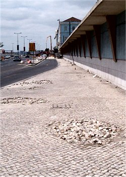 Buracos Calçada