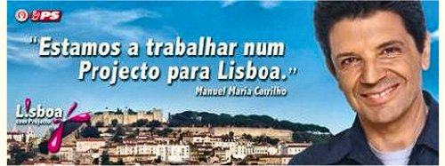 Cartaz Manuel Maria Carrilho