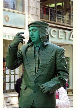 Homem Estátua Lisboa