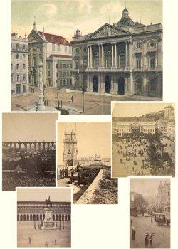 Lisboa em postais antigos