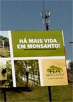 Cartaz Monsanto