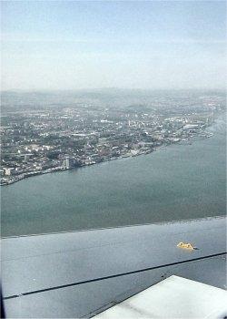 Vista aérea Parque Nações