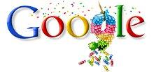 Google 9 aniversário