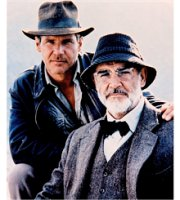 Harrison Ford e Sean Connery