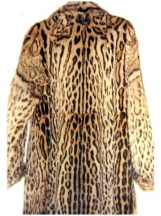 Casaco de leopardo