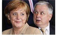 líderes alemã e polaco