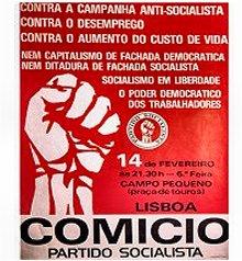 Comício PS 1975