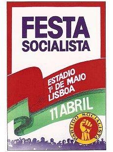 Cartaz PS 1975