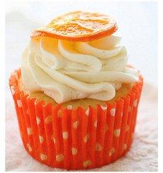 Cupcake Laranja