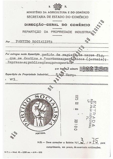 Registo do Partido Socialista