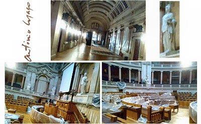 Palácio São Bento em obras