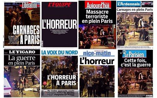 Jornais Paris 2015
